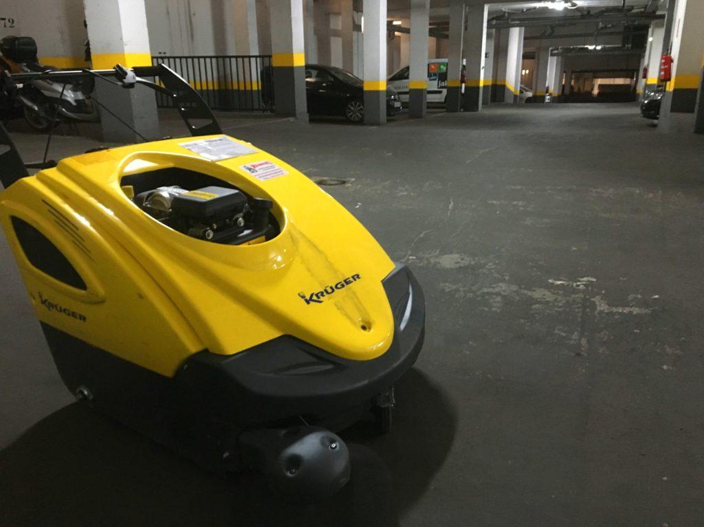 Maquinaria Para Limpiar Garajes