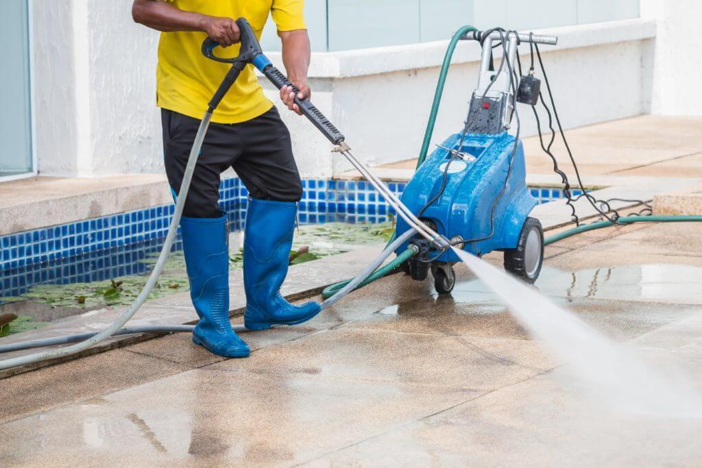 Limpieza Con Agua A Presion