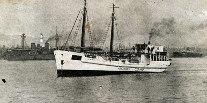 Primer Barco De Hormigon Armado