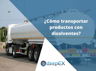 Como Transportar Productos Disolventes