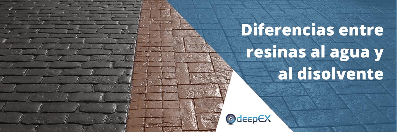 Diferencias Resinas Agua Y Disolvente Banner